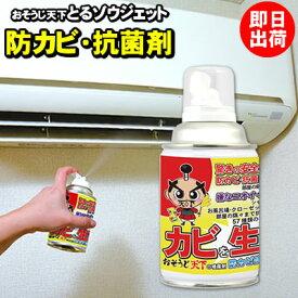 防カビ 抗菌剤 とるゾウジェット エアコン 車 室内 浴室などでお勧め エアゾール式 スプレー缶 「送料区分A」