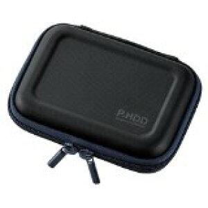 送料無料!ELECOM ポータブルHDDケース セミハード Sサイズ HDD落下防止ネット付 ブラック HDC-SH001BK