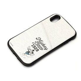 PG-DCS694MKY(ミッキ-マウス グレ-) iPhone XR用 タフポケットケ-ス Dis