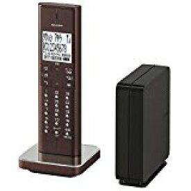 送料無料!シャープ デジタルコードレス電話機 ブラウン系 JD-XF1CL-T