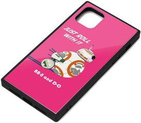 【 ポイント5倍 30日限定 】【 あす楽 送料無料 即納 】 PGA PG-DGT19C33BB iPhone 11 Pro Max用 ガラスハイブリッドケース BB-8
