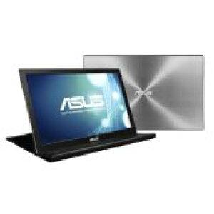 送料無料!ASUS 薄い・軽量、USBで簡単接続、15.6型WXGA モバイルディスプレイ ( 厚さ8mm / 重さ800g / 1,366×768 / USB3.0 / ノングレア / 3年保証 ) MB168B