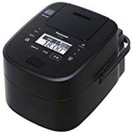 送料無料!パナソニック 5.5合 炊飯器 圧力IH式 Wおどり炊き ブラック SR-VSX108-K