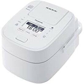送料無料!パナソニック 5.5合 炊飯器 圧力IH式 Wおどり炊き ホワイト SR-VSX108-W