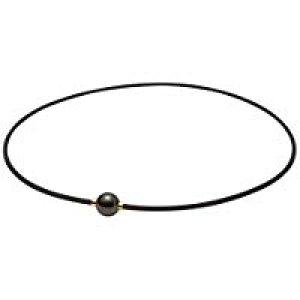 送料無料!ファイテン(phiten) ネックレス RAKUWA ネックX100 ミラーボール ブラック/ゴールド 45cm