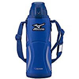 送料無料!象印 (ZOJIRUSHI) ミズノ水筒 直飲み スポーツタイプ ステンレスクールボトル 1.0L ブルー SD-FX10-AA