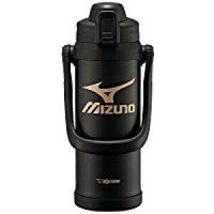 送料無料!象印 (ZOJIRUSHI) ミズノ水筒 直飲み スポーツタイプ ステンレスクールボトル 2.0L ブラック SD-BX20-BA