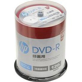 送料無料!hp(ヒューレット・パッカード) 録画用DVD-Rホワイト・ディスク(SPケース) 100枚