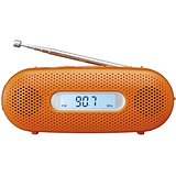 送料無料!パナソニック FM-AM2バンドレシーバー 手回し充電ラジオ オレンジ RF-TJ20-D【4549077674609】