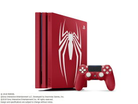 プレイステーション4 Pro Marvel's Spider-Man Limited Edition CUHJ-10027 [1TB]