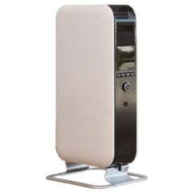Mill オイルヒーター (温度調節機能) (出力3段階設定) (コンクリート住宅~8畳/木造住宅~6畳) (入タイマー/切タイマー 最大24時間) (おやすみタイマー) (LEDディスプレイ表示) ホワイト YAB-H1200TIM(W)