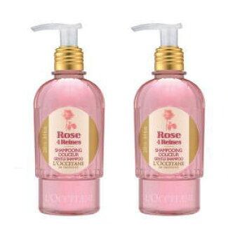 欧舒丹玫瑰洗发水 250 毫升 2 件套