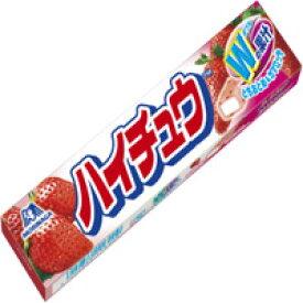 【森永製菓】ハイチュウ ストロベリー 12粒【森永ハイチュウ】【イチゴ】