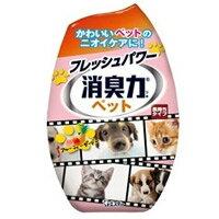 【エステー】【消臭力】お部屋の消臭力 ペット用 フルーティーガーデン 400mL【犬・猫用】【消臭・芳香剤】