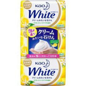 【花王】花王ホワイトリフレッシュ・シトラスの香り バスサイズ 130g×3コ入【石鹸・ソープ】【花王ホワイト】