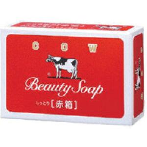 【牛乳石鹸】【カウブランド】赤箱 1個(100g)【釜だき製法】【ミルクバター配合】【保潤成分】