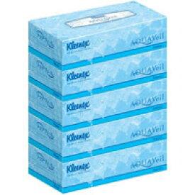 【クレシア】【Kleenex】【AQUAVeil】クリネックス アクアヴェールティッシュ 5箱パック(180組×5箱)【保湿成分】【ボックスティッシュー】
