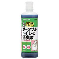 【サラヤ】スマイルヘルパーさんポータブルトイレの消臭液 500ml【ポータブルトイレ用消臭剤】