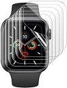 6枚入りアップルウォッチ用 保護フィルム iwatch 保護フイルム apple watch 保護フイルムApple Watch Series 6/se/5/…