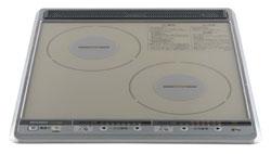 【後継品での出荷になる場合がございます】【送料無料】[CS-G28BS] ビルトイン IHクッキングヒーター IHヒーター 三菱 コンパクトタイプ 2口 IH シルバー 45cm IHクッキングヒーター IHヒーター IHコンロ IH調理器