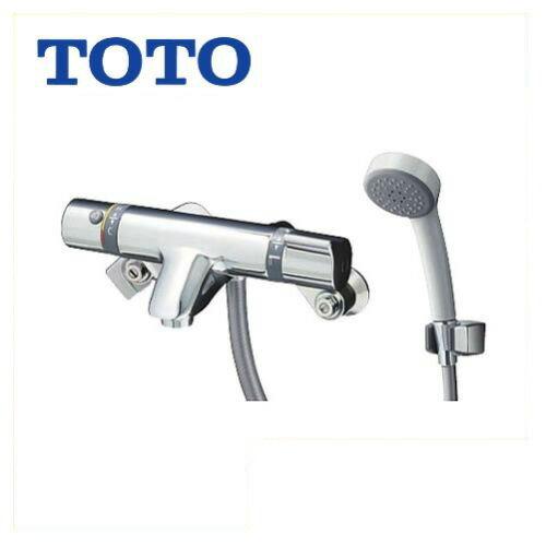 [TMF44E1R]TOTO 浴室水栓 シャワー水栓 サーモスタットシャワー金具 エアインシャワー 洗い場専用 蛇口 【送料無料】 壁付タイプ おしゃれ