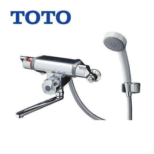 [TMF47E1R]TOTO 浴室水栓 シャワー水栓 定量止水タイプ 定量止水式壁付サーモスタットシャワー金具 エアインシャワー 蛇口 【送料無料】 壁付タイプ おしゃれ