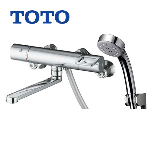 [TMGG40E3]TOTO 浴室水栓 シャワー水栓 GGシリーズ サーモスタットシャワー金具(壁付きタイプ) シャワーヘッド:エアインめっき リングハンドル 【送料無料】 混合水栓 浴室用 蛇口 壁付タイプ おしゃれ