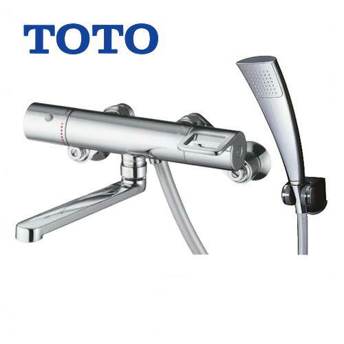 [TMGG40ECR]TOTO 浴室水栓 シャワー水栓 GGシリーズ サーモスタットシャワー金具(壁付きタイプ) シャワーヘッド:エアインめっき リングハンドル 【送料無料】 混合水栓 浴室用 蛇口 壁付タイプ おしゃれ