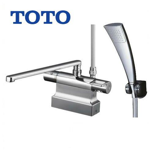 [TMGG46ECR]TOTO 浴室水栓 シャワー水栓 GGシリーズ サーモスタットシャワー金具(台付きタイプ) シャワーヘッド:エアインめっき 【送料無料】 混合水栓 浴室用 蛇口 デッキタイプ おしゃれ