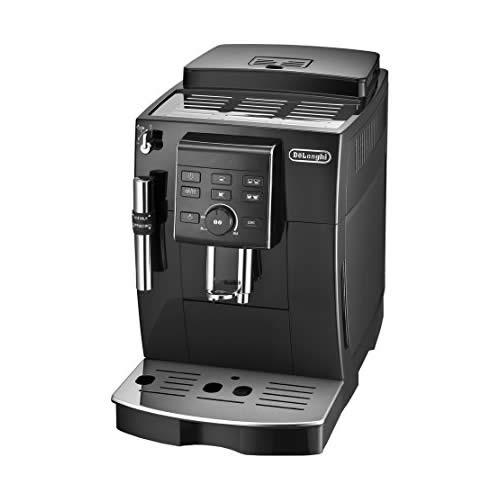 【安心の無料3年保証付】[ECAM23120-BN] デロンギ コーヒーメーカー マグニフィカS コンパクト全自動エスプレッソマシン 豆から淹れる ミルク泡だて ブラック 【送料無料】