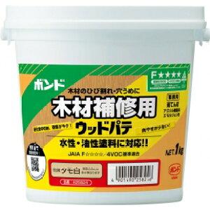 コニシ ボンド ウッドパテ 木材補修用 12個入 タモ白 【品番:#25824】