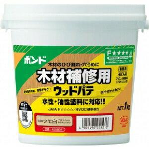 コニシ ボンド ウッドパテ 木材補修用 タモ白 (1個入り) 【品番:#25824】
