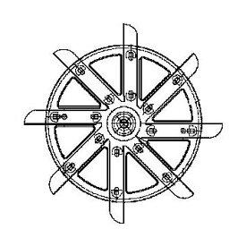 リンナイ 循環ファン(ラジアルファン) 【品番:040-097-000】