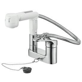SANEI シングルスプレー混合栓(洗髪用) 一般地用 【品番:K37100VR-13】●■