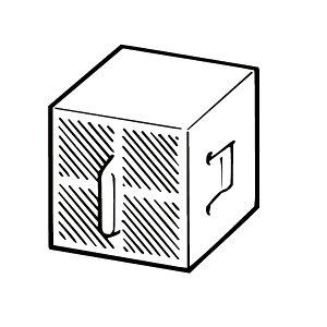 【CWA-29】リクシル シャワートイレ用付属部品 スーパーセピオライト脱臭カートリッジ 【LIXIL】