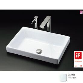 【LS716 #NW1】TOTO 洗面器 ベッセル式洗面器 ホワイト 【トートー】
