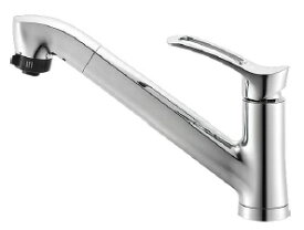 【在庫有り】SANEI シングルレバースプレー混合水栓 K87120JV-13 一般地仕様 キッチン用 ワンホール 普通吐水 三栄水栓