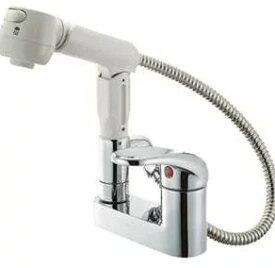 SANEI K37100K シングルスプレー混合栓 K37100K-13【ss0627】