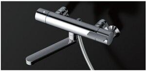 壁付サーモスタット混合水栓(コンフォートウエーブ3モード、めっき) TBV03404J