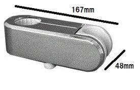【メール便対応可】 LIXIL(INAX) 補修部品 CKNB(5)-SF/CH スライドバー用シャワーフック バー直径30ミリ専用 シャワー前掲角度調節可 ボタン一つで上下移動可能 クロムメッキタイプ