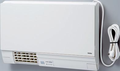 TOTO TYR340R 洗面所暖房機 集合・戸建住宅向け TYR300シリーズシリーズ 100V ワイヤレスリモコン(赤外線式)付き 予約運転機能付き 電源プラグ式