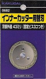 カクダイ (KAKUDAI)インナーカッター用替刃 品番:607-002
