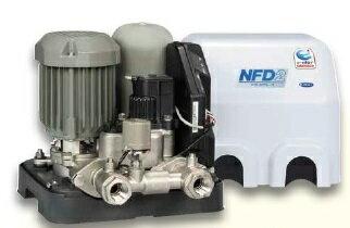【メーカー直送にて送料無料】川本ポンプ NFD2-400T 給水補助加圧装置 三相200V 400W 口径20ミリ