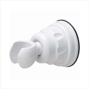 【メール便なら300円発送可能】三栄水栓 PS30-37 吸盤式シャワーフック PS30-37-W