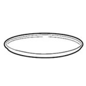 シャープ オーブンレンジ用 丸皿(セラミック製)(350 293 0163)