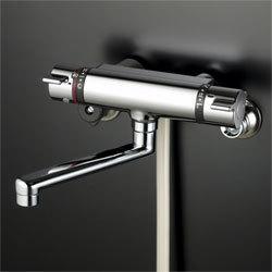 KVK バスルーム用壁付サーモスタット式シャワー 混合栓 KF800T リフォームや交換・現場などにいかがですか?