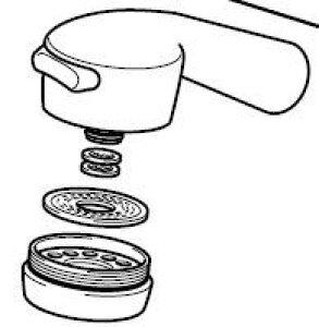 キッチン水栓用シャワーヘッド HC732-A