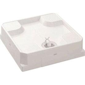 ミヤコ・シナネン(BULLS) 洗濯機パン防水パン 床上配管タイプ USB-6464SNW ※透明横引トラップ付【代引不可】【同梱不可】