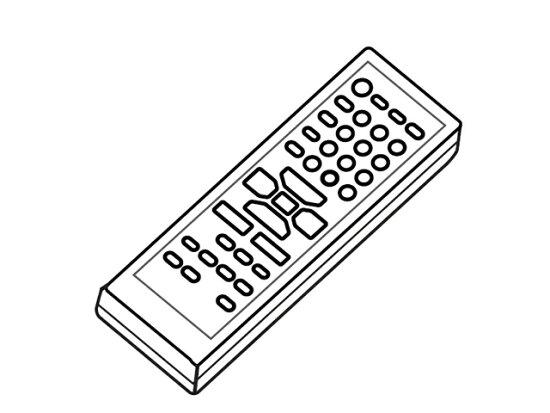 供松下音頻使用的遥控EUR7710070 jyuukipuraza