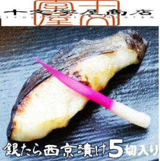 "Craftsman brewing ""Silver I miso-pickled"" 5 piece Pack for silver cod and silver from / silver / silver Vass / silver Dara / sablefish / miso / 532P14Aug16"